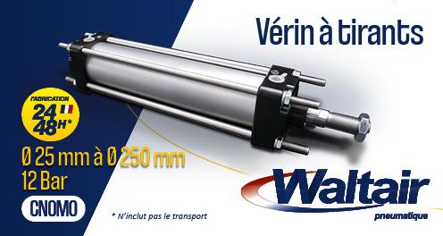 Waltair pneumatique vérins CNOMO